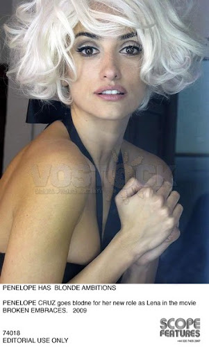 You penelope cruz as marilyn monroe for