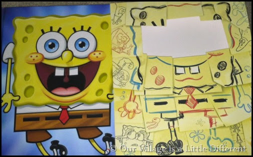 SpongeBob SquarePants Experience Book and Slipcover