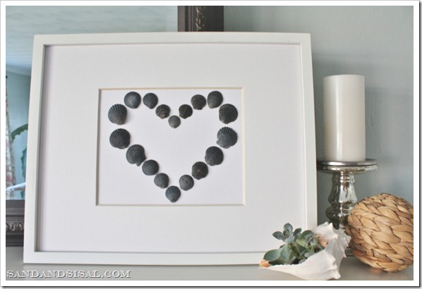 Shell Valentine Art