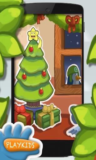 圣诞节游戏的孩子
