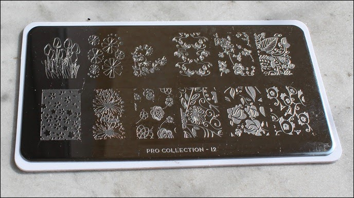 Stamping Plate Moyou Pro Collection 12
