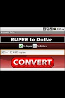 Screenshot of Rupee to Dollar (Ad Free!)