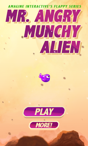 Mr. Angry Munchy Alien