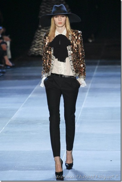 Sfilata Saint Laurent Paris - Collezioni Primavera Estate 2013 -