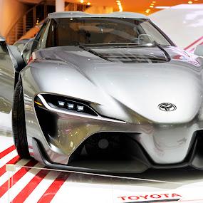 Toyota FT-1 Concept by Leonardus Cung - Transportation Automobiles ( car, sportscar, concept, motorshow, automobile )