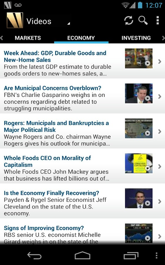 FOX Business - screenshot