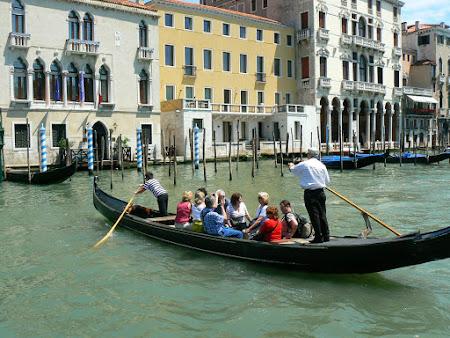 Imagini Venezia: gondolier