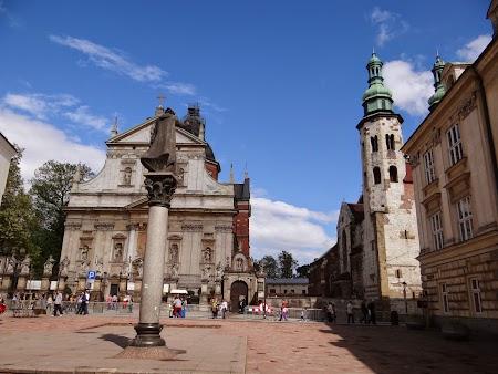 06. In centrul vechi din Cracovia.JPG