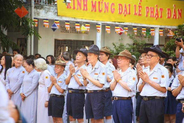 IMG 1746 Đại lễ Phật đản PL 2557 tại Tu viện Quảng Hương Già Lam