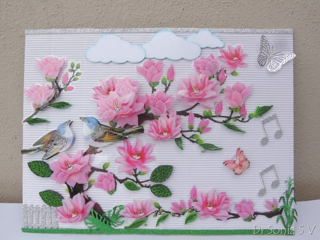 Cards ,Crafts ,Kids Projects: 3 D Wall Decor