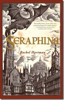 book cover of Seraphina by Rachel Hartman