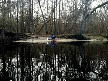 morning launch on the Suwannee River