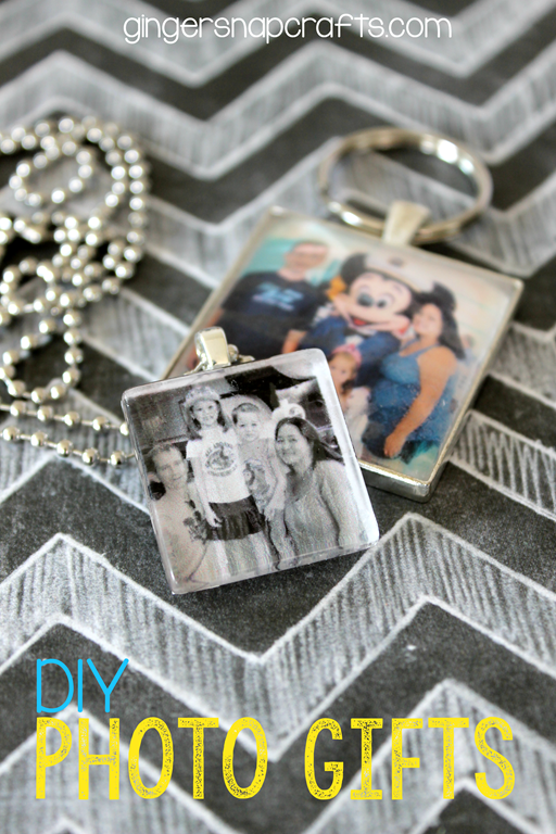 DIY Photo Gifts at GingerSnapCrafts.com