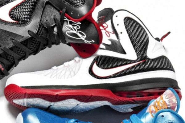 new arrival 76120 52d66 First Look  Nike LeBron 9 White Black Red (469764-100)   NIKE LEBRON -  LeBron James Shoes