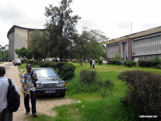 Une vue du site de l'Université de Kinshasa (Unikin), 18 janvier 2011.
