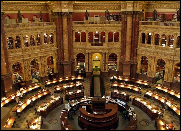 Library of Congress, Washington, DC, Etats-Unis