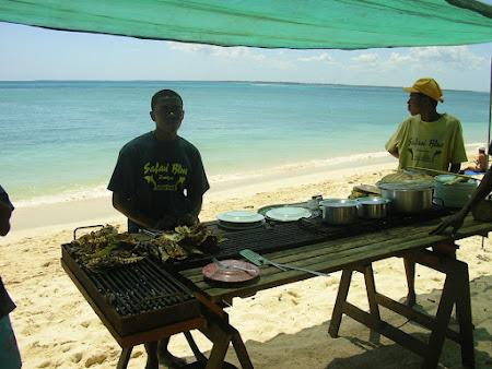 Excursii Zanzibar: gratare