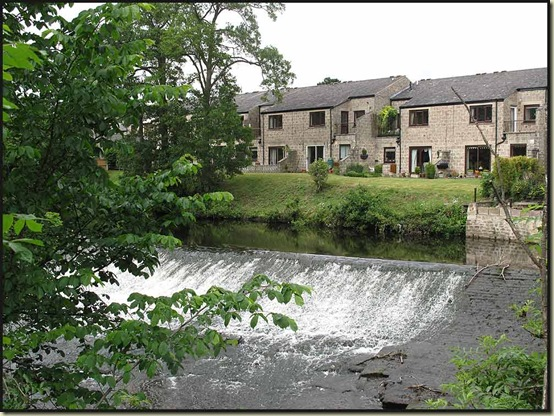 The weir at Baslow