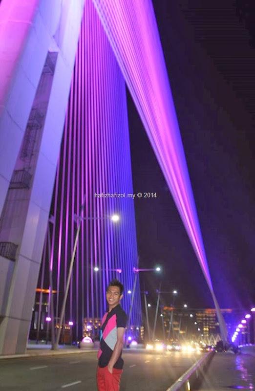 gambar atas jambatan putrajaya