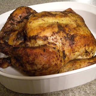 Slow Roasted Lemon Chicken.