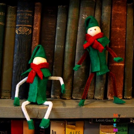 Ontheshelf #Christmas #crafts #pipecleaners #elfontheshelf #ornaments
