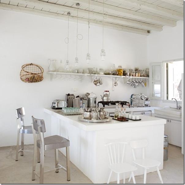 10 cucine bianche un po' shabby - case e interni - Cucine Country Bianche