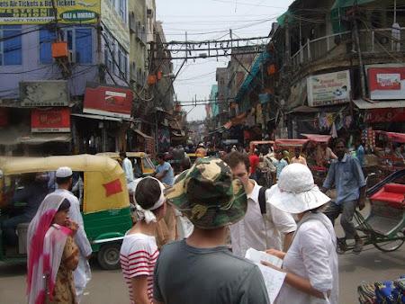 Obiective turistice Delhi: bazar Paharganj
