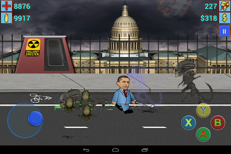 Aliens vs President II Free