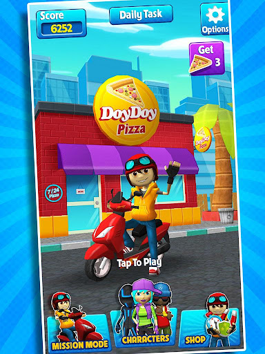Subway Scooters Free -Run Race 4.1.6 screenshots 4
