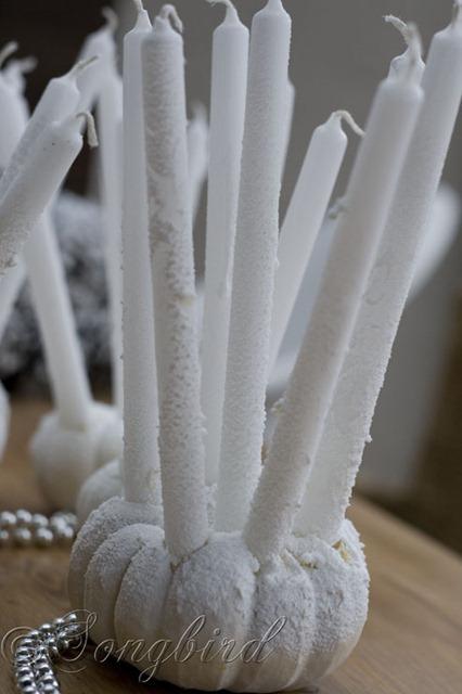 Songbird Pumpkin Candlesticks 3