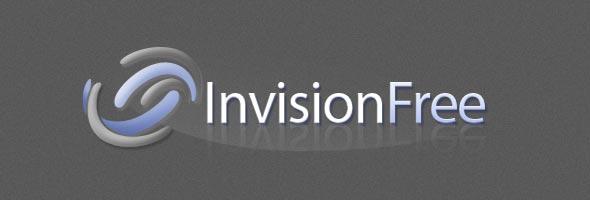 Logotipo do sistema de fórum InvisionFree.