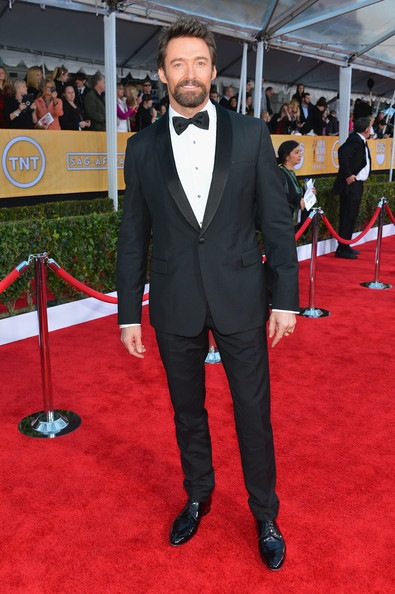 Hugh Jackman arrives at the 19th Annual Screen Actors Guild Awards