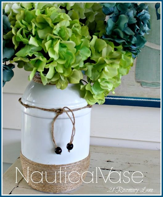 21 Rosemary Lane Nautical Vase