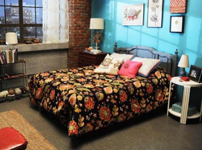 O quarto da Jess ( New girl)