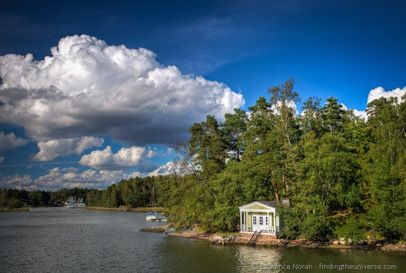 house by river Finland