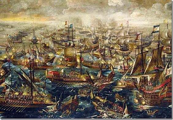 The Battle of Lepanto 1571