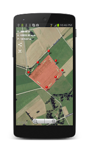 Planimeter - GPS area measure- screenshot thumbnail