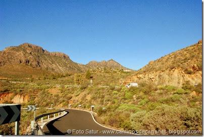 7301 Tunte-Fataga-Arteara (Morros del Pinar-Morro de las Vacas)