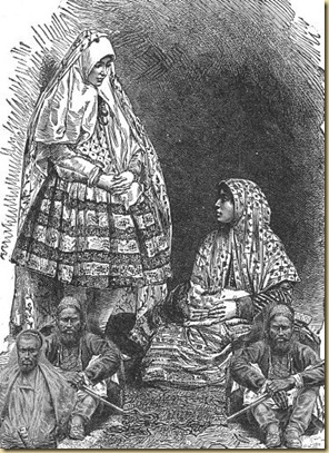 Historical Illustration of Iran