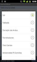 Screenshot of Cercanías Offline