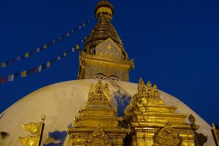 Obiective turistice Nepal: Swayanbunath Kathmandu