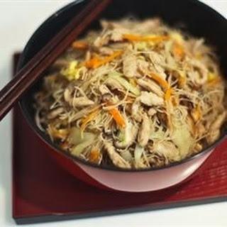 Tsao Mi Fun (Taiwanese Fried Rice Noodles).