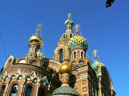 Obiective turistice Rusia: Biserica Sfantului Sange St. Petersburg