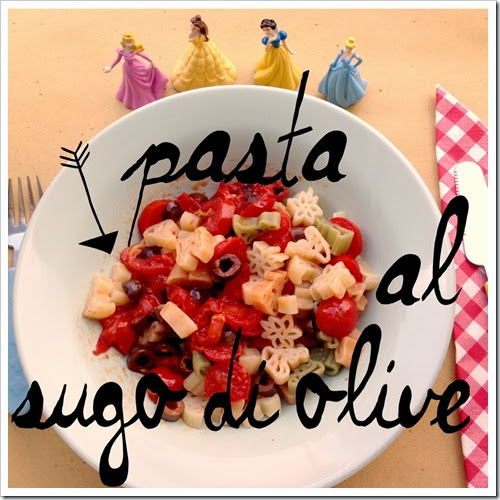 Primi per bambini: sugo di olive