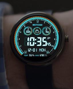 V03 WatchFace for Moto 360 - náhled