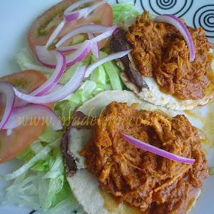 Panuchos (Stuffed Tortillas)