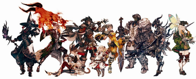 Final Fantasy XIV A Realm Reborn Coming to PlayStation 4 in April