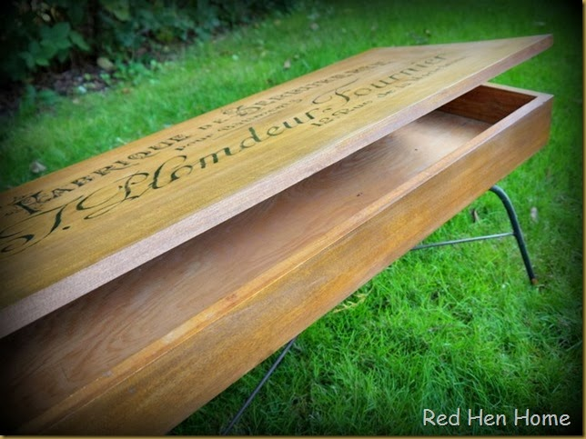 Red Hen Home French Bench 3