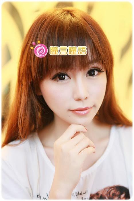 15優15yo分享-GEO冰漾甜心黑 廣瀨麻伊代言 眼睛看起來很柔和