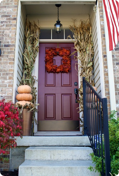 square fall wreath